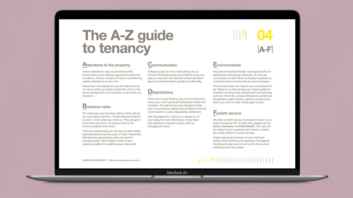 Workplace Property Welcome Guide