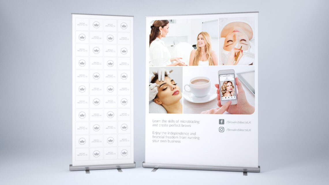 Pop-up Stand Design for Brow Architects