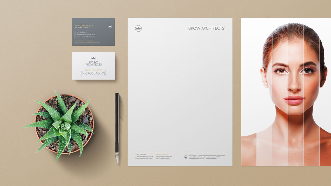 Stationery Design for Brow Architects