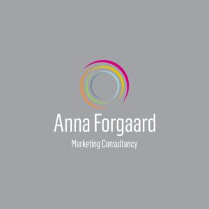 Anna Forgaard Marketing Logo Design