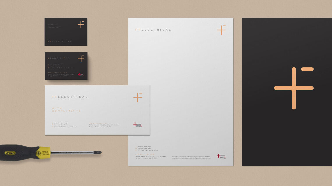 FT Electrical Stationery Design