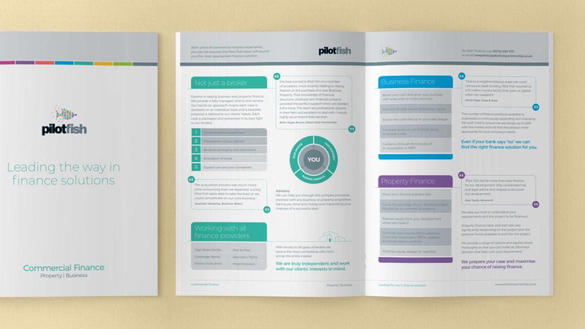 Brochure Design for Pilotfish