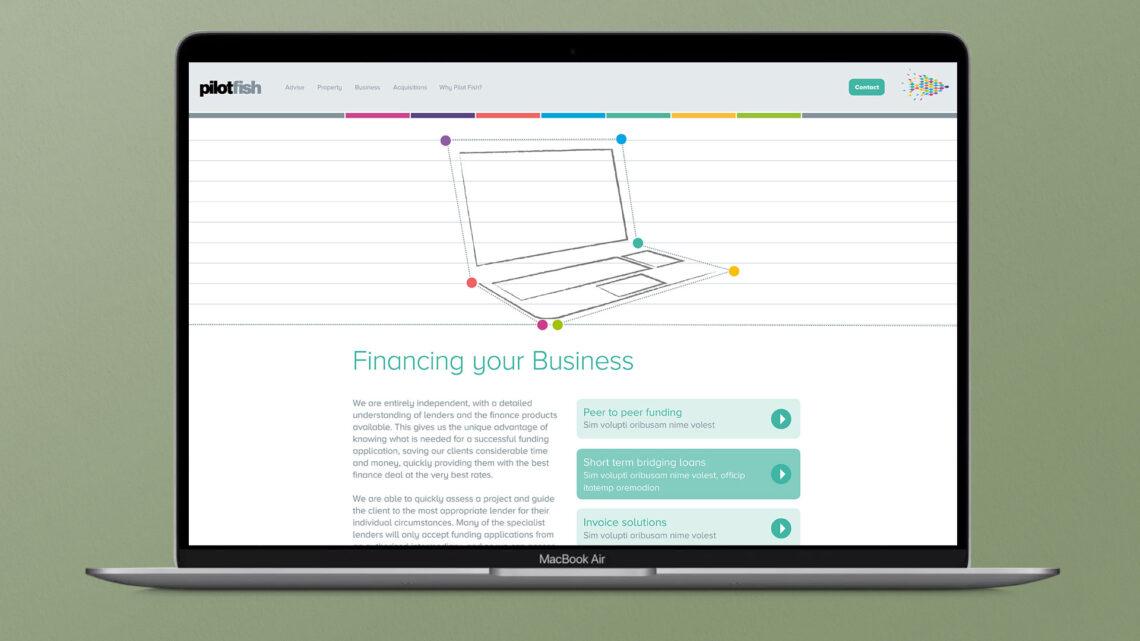 Pilotfish Website Design