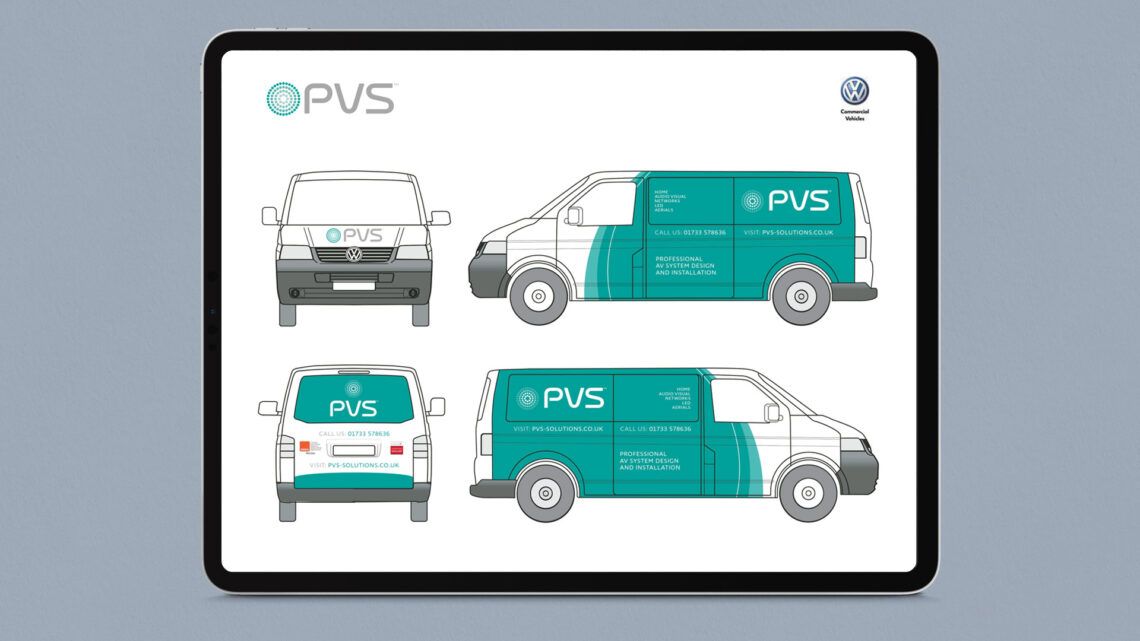 PVS Vehicle Livery by Branding Agancy