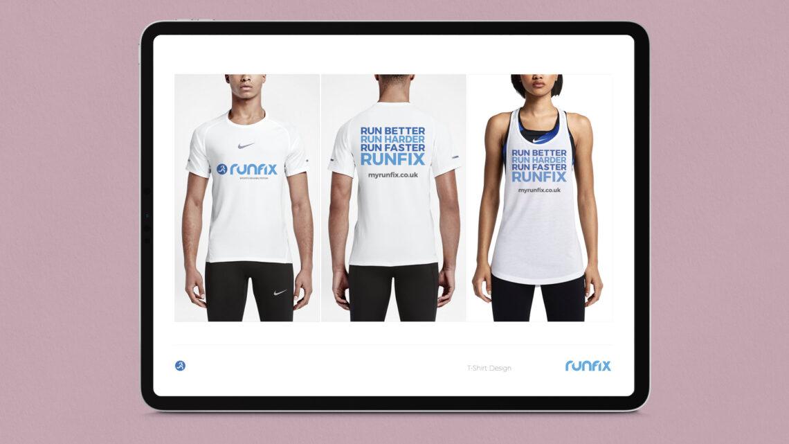 T-Shirt Design for Runfix