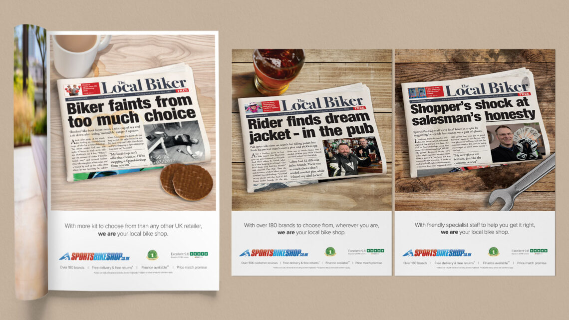 Sportsbikeshop Ad Campaigns