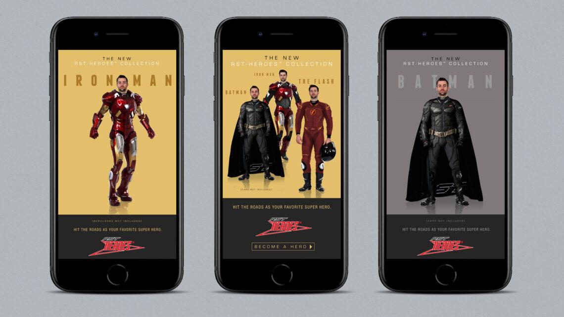 RST Superheroes Ad Creative