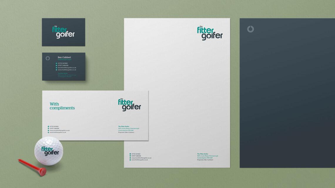 The Fitter Golfer Branding