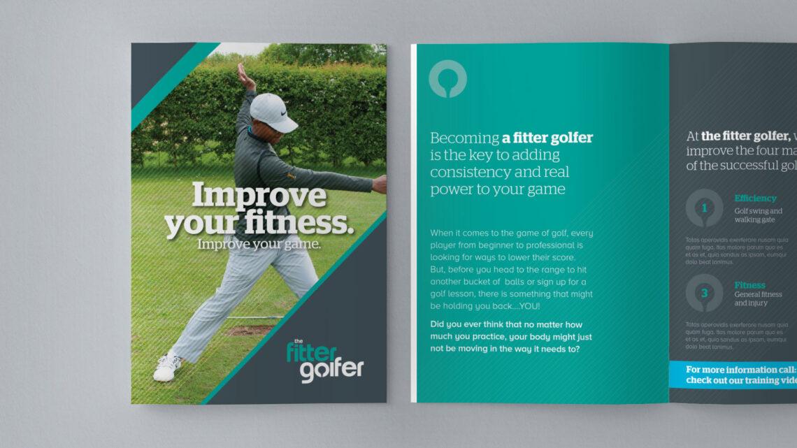 The Fitter Golfer Brochure Design