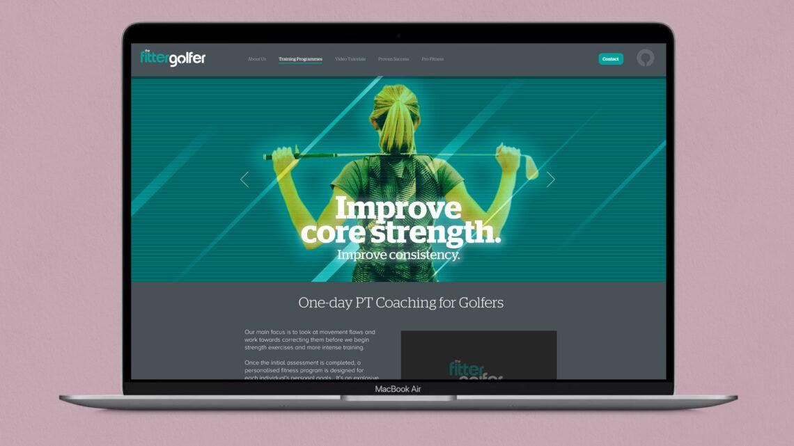 Web Design for the Fitter Golfer