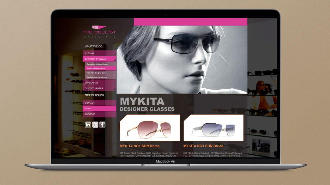 The Oculist Website Design